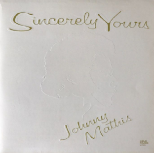 Johnny Mathis ‎- Sincerely Yours (LP) (EX-/VG)